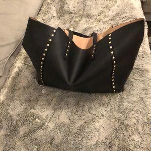 Zara vegan leather bag